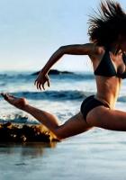 run, track and field athletics, girl
