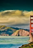 san – francisco, bridge, sky