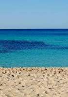 sand, sea, horizon