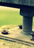 screws, bolts, metal
