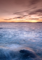 sea, calm, sky