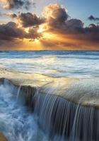 sea, ocean, coast