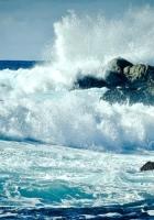 sea, ocean, splashes