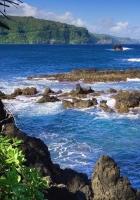 sea, stones, day