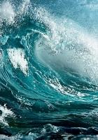 sea, wave, storm
