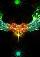 shape, wings, bright