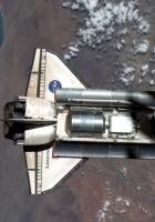 shuttle, space, flight