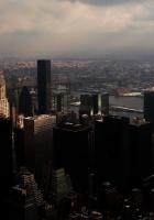sky, city, height