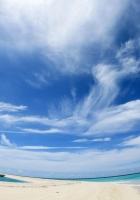 sky, clouds, beach