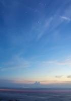 sky, stars, twilight