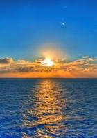 sky, sun, sea