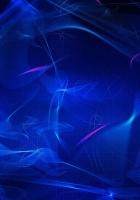 smoke, mesh, blue