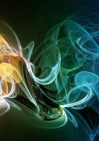 smoke, plexus, colorful