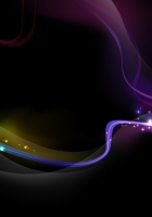 smoke, wave, rainbow