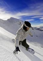 snow, board, skinig