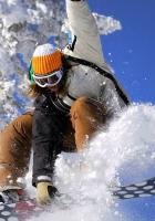 snowboard, snowboarder, snow