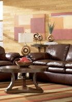 sofa, leather, bedroom