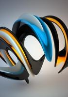 spiral, light, color