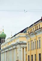 st petersburg city, russia, nevsky