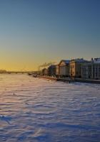 st petersburg, winter, area