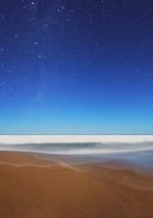 stars, sky, horizon