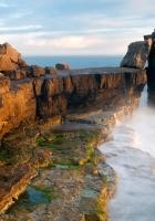 stones, blocks, coast