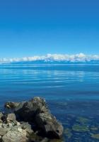 stones, lake, siberia
