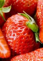 strawberry, berry, macro