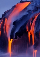 streams, steam, lava