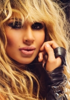 svetlana loboda, blonde, photo shoot