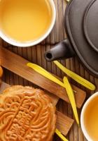 tea, biscuits, sweets