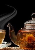 tea, cup, teapot