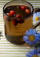 tea, herbs, wild rose
