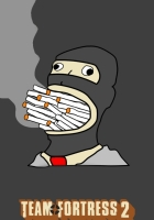 team fortress 2, cigarette, smoke