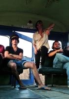 television personalities, bus, band