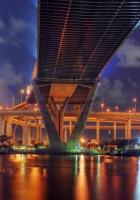 thailand, bangkok, bridge