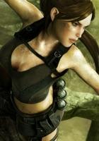 tomb raider underworld, girl, chest