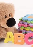 toys, letters, plush