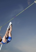 track and field, jump, pole