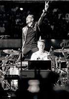u2, scene, drum
