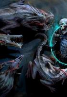 undead, monsters, skulls