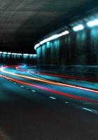 underground, road, turn
