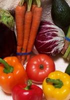 vegetables, carrots, pepper