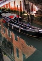venice, gondola, river