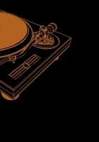 vinyl, plate, revolving