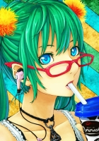 vocaloid, girl, glasses