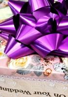 wedding gift, ribbon, packaging
