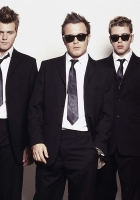 westlife, suits, ties