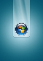 windows 7, blue, logo