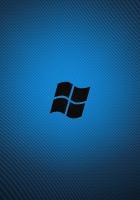 windows, blue, black